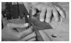 How to use and sharpen a Wood Scraper. Free woodworking tips and advice from Highland Woodworking.