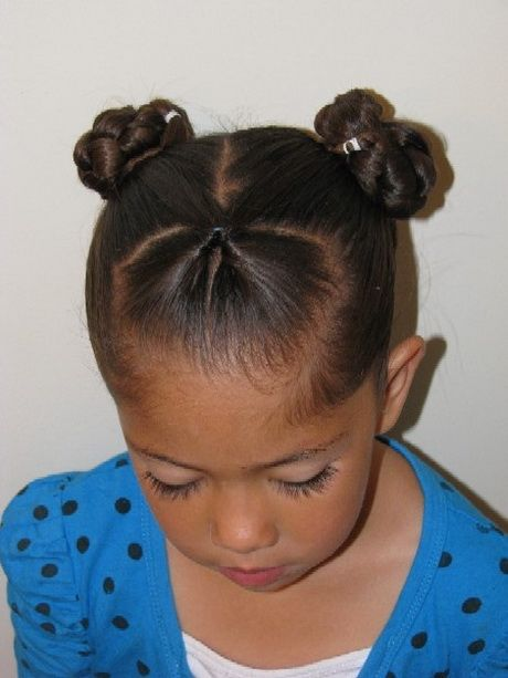 Swell 1000 Ideas About Black Little Girl Hairstyles On Pinterest Hairstyles For Women Draintrainus