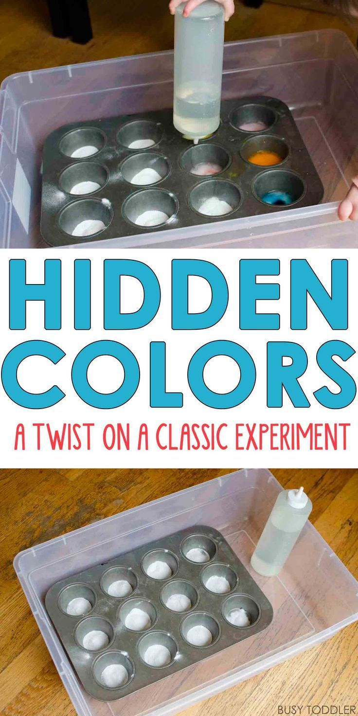 hidden colors a twist on a classic experiment toddlers and preschoolers will love this