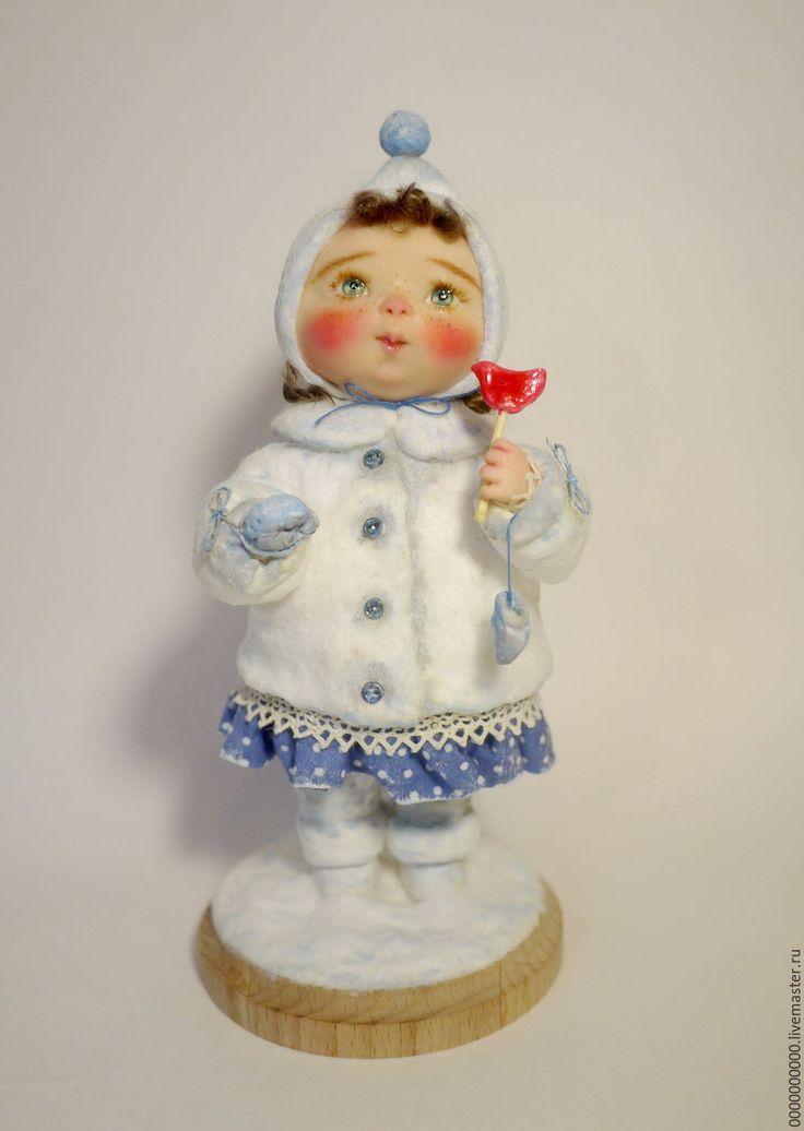Купить авторская кукла Варя - авторская кукла купить, авторская ручная работа, рождественский подарок