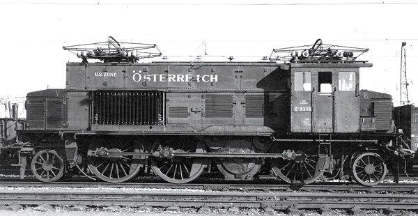 RIVAROSSI HR2377 Electric locomotive E3319, US Zone Österreich ...