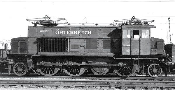 RIVAROSSI HR2377 Electric locomotive E3319, US Zone Österreich ...
