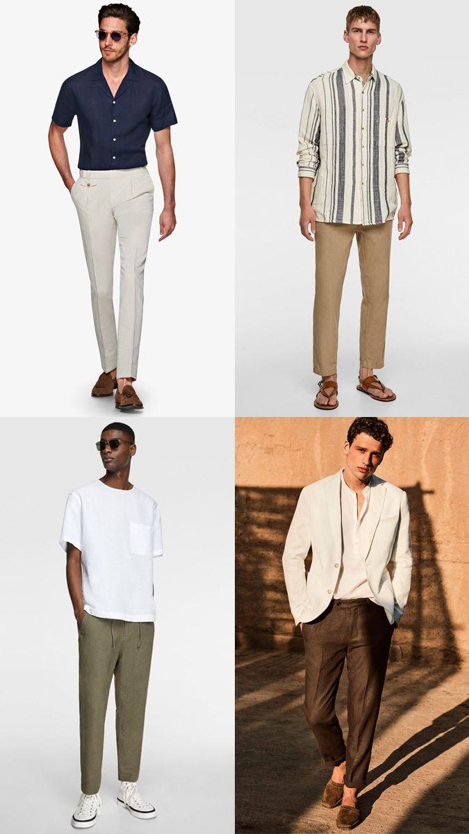 Le Meilleur Pantalon De Lin Pour Les Hommes En 2019 Linen Trousers Linen Trousers For Men Trousers [ 1200 x 675 Pixel ]