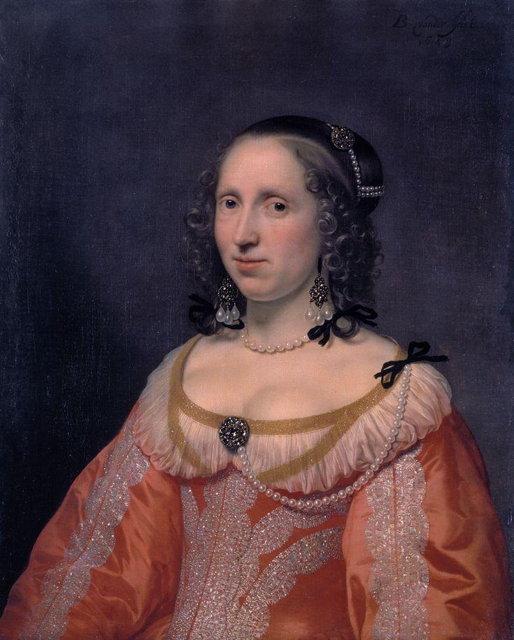 Bartholomeus van der Helst - Portret van een vrouw (1649)