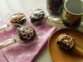 「【クリスマス】サクっふわっチョコポップ」nobuchi   お菓子・パンのレシピや作り方【corecle*コレクル】