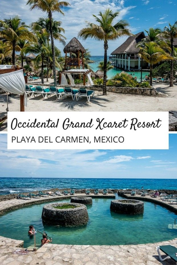 The true beauty of an all-inclusive resort like the Occidental Grand Xcaret in Riviera Maya, Mexico, is that it requires almost nothing of you. The biggest decisions of the day are whether to visit the pool or the beach and where you want to have dinner | Vacation Made Simple at the Occidental Grand Xcaret