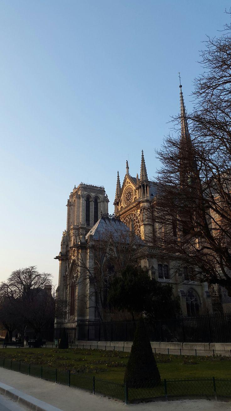 Notre-Dame Cathedral, Paris, France.