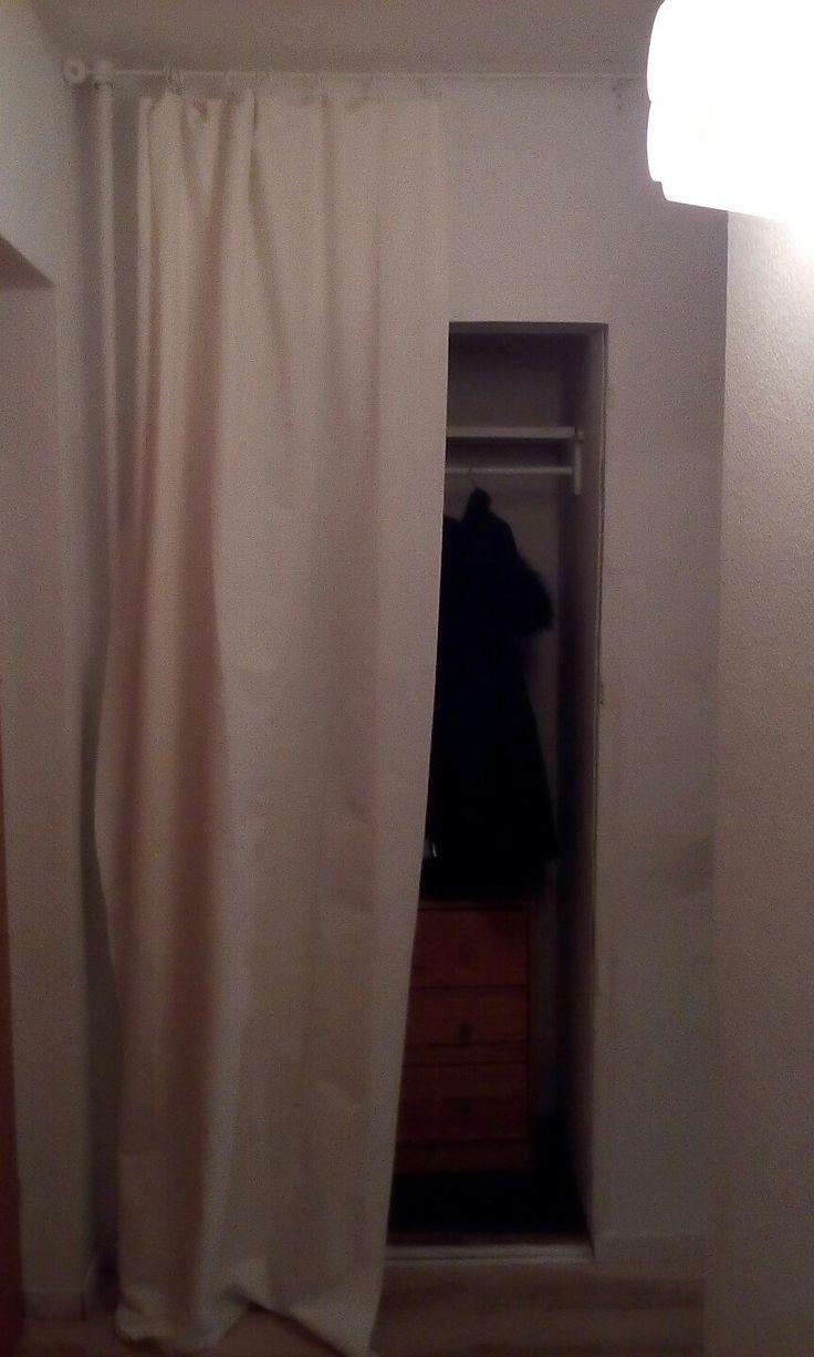 a curtain instead of Doors.
