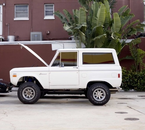 Ford Bronco my dad has a 76 I personally are a 80's model fan. Still great truck…
