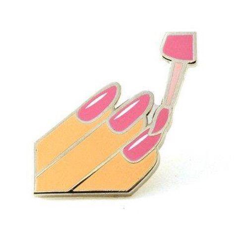 Pintrill #NAILSDID Emoji Pin from La Petite Mort NYC