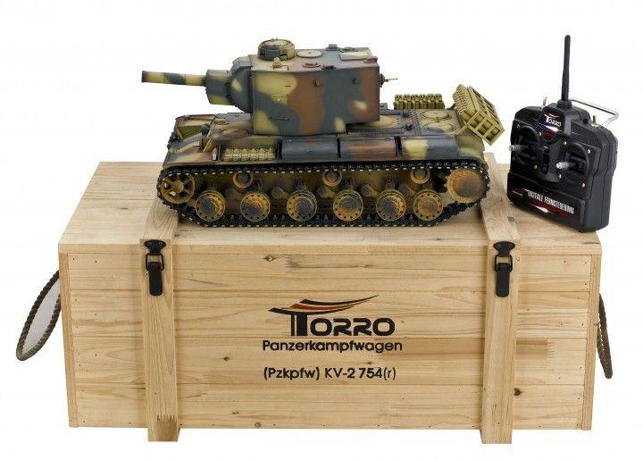 KV-2 Pzkpfw. KV-2 754 2.4GHz-Edition Metal Upgrade - RC Kampvogn  http://www.toytrade.dk/torro/10815-kv-2-pzkpfw-rc-kampvogn.html