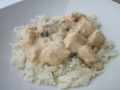 Basil Chicken in Coconut Curry sauce | I like to eat! | Pinterest