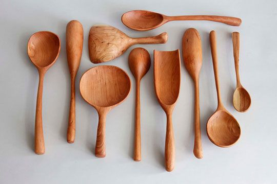 Wooden Spoons from Blackcreek Mercantile & Trading, NYC