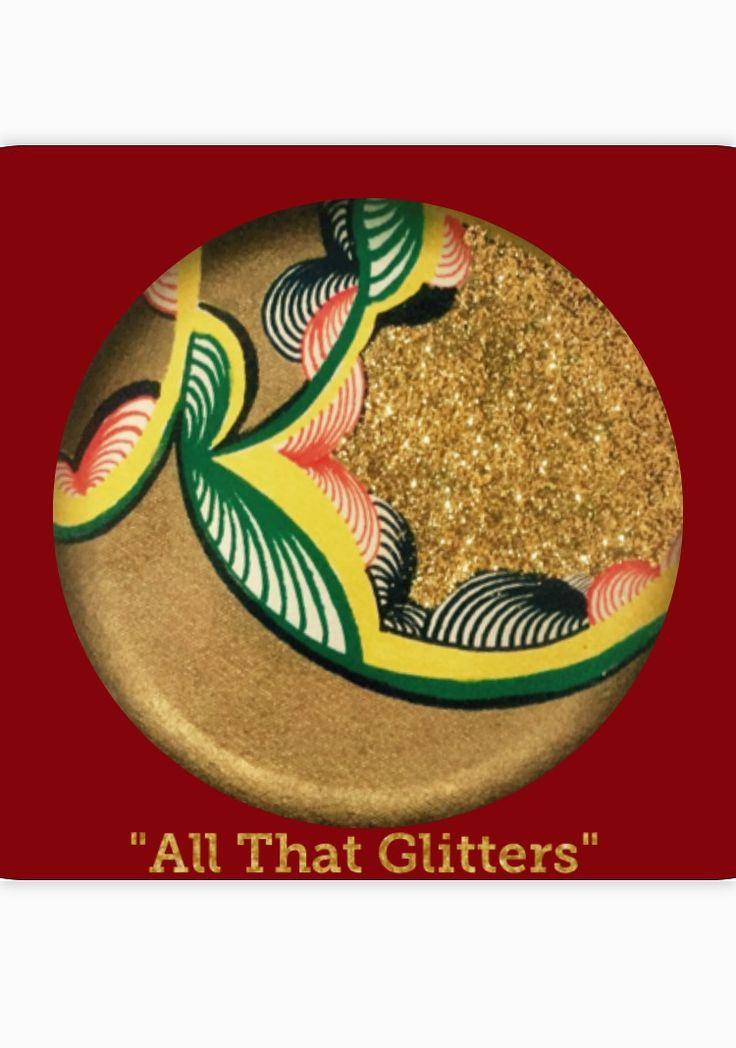 """All That Glitters"" #UniqueGreetingCards #BlankGreetingCard #MelodyGermainDesigns #yyc"