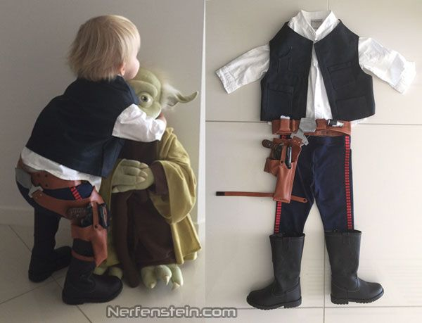 Mini Han Solo - Star Wars costumes for toddlers Han Solo cosplay