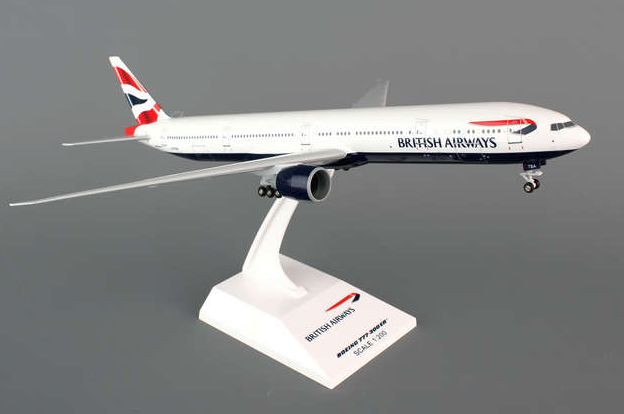 Skymarks British Airways Boeing 777-300ER 1/200 Plastic Model