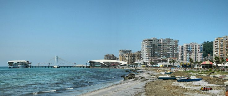 Durres, Albania, Nikon Coolpix L310, 12.6mm, 1/200s, ISO80, f/11.4, -0.3ev, panorama mode: segment 2, HDR-Art photography, 201607061237