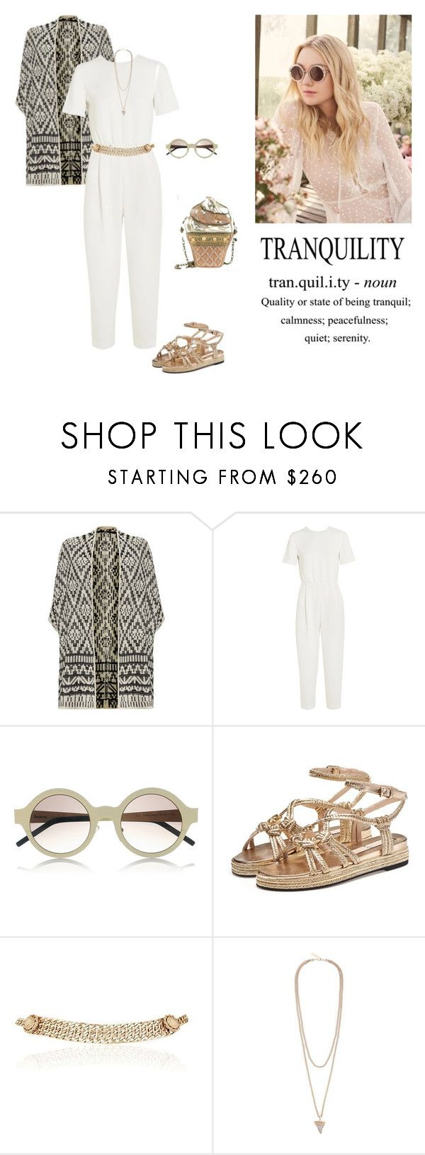 """""""Tranquility"""" by dorey on Polyvore featuring Mary Frances Accessories, Jimmy Choo, Joie, MaxMara, Illesteva, Maison Mayle and Givenchy"""