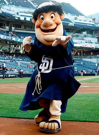 San-Diego-Padres-balanceo-Fray-MLB-mascota-2015 | La interferencia del ventilador