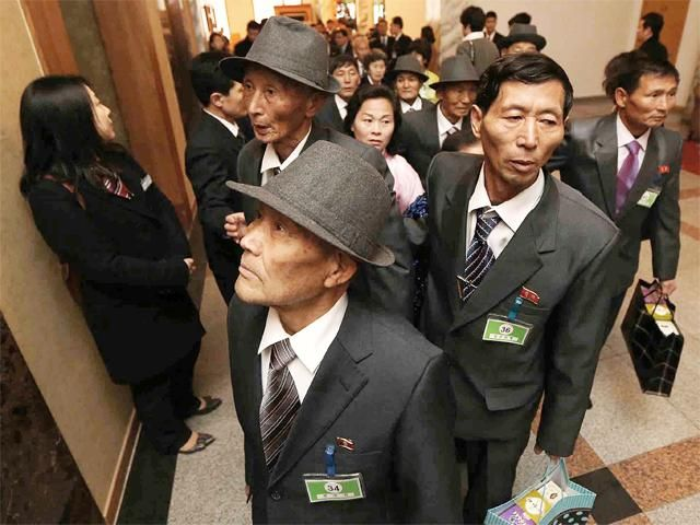 Emotional reunion for North and South Koreans