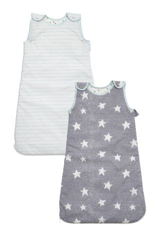 Little Star Sleeping Bag Two Pack (0mths-3yrs)
