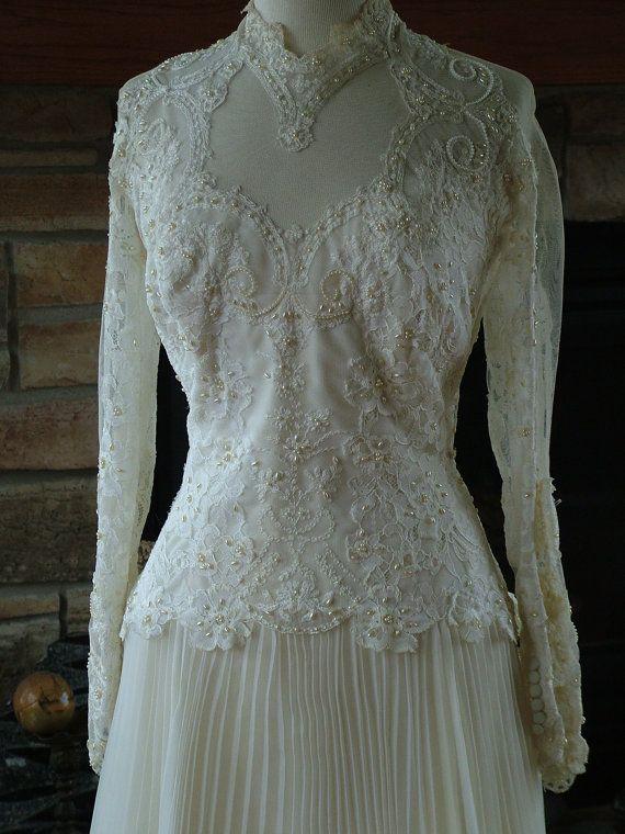 71 best images about 1970 wedding dresses 1970 dresses for Vintage victorian wedding dresses