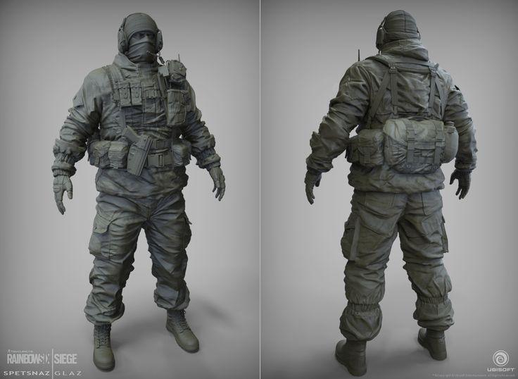 ART DUMP - Tom Clancy's Rainbow Six® | Siege - polycount