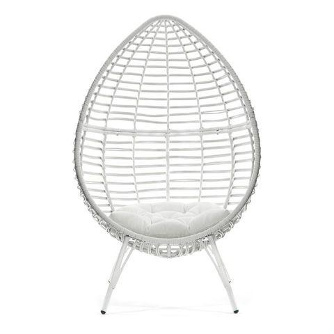 Teardrop Wicker Chair