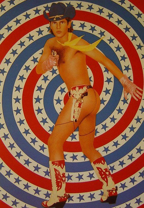 Le Cowboy Victor (1978) by Pierre Et Gilles