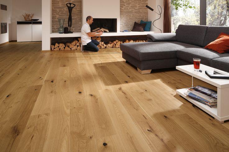 Parkettboden eiche rustikal  Schulte Räume Parkett 250 Aktiv Diele | Eiche rustikal 8163 | UV ...