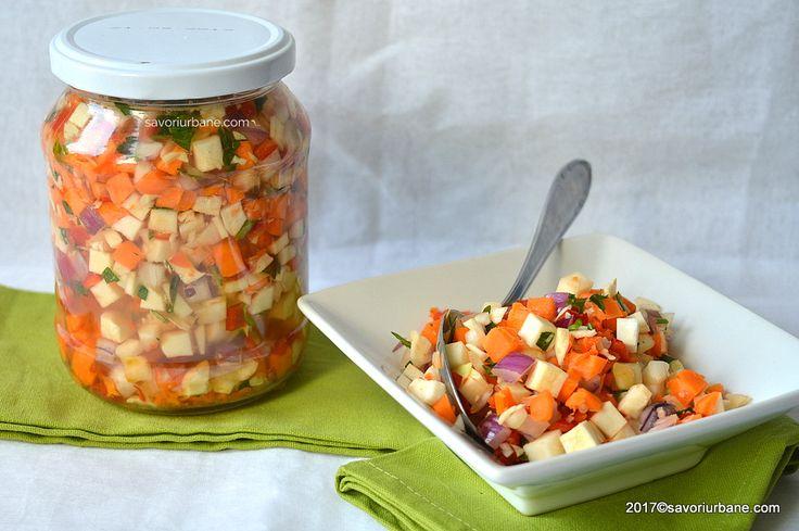 Zarzavat pentru ciorba la borcan sau congelator. Zarzavaturi si legume tocate marunt, gata pregatite ca sa fie folosite la ciorba, supa sau tocana. Este o