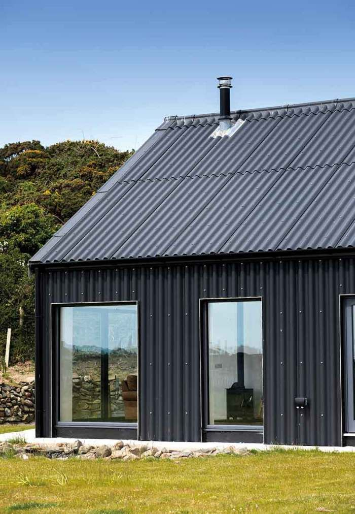 Low Cost Energy Efficient Rectangular Design In 2020 Energy Efficient House Plans Roof Design Modern Barn House