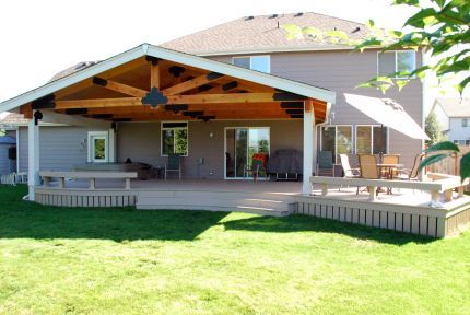 55 Best Covered Deck Images On Pinterest