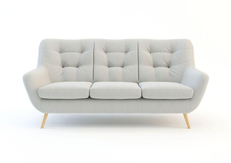SOFA SCANDI  Sofa trzyosobowa SCANDI z kolekcji mebli wypoczynkowych to doskonały wybór do salonu. Może posłużyć jako samodzielna sofa, albo zestaw z inną sofą czy fotelami. W ofercie oprócz sofy znajdują się także fotele, narożnikidzięki czemu można stworzyć zestaw z odpowiednich dla siebie elementów. Meble Scandi zostały stworzone przede wszystkim do komfortowego wypoczynku. Odpowiednie wypełnienie i pianki dbają o właściwy komfort. Meble zwracają na siebie uwagę ciekawymi przeszyciami i…