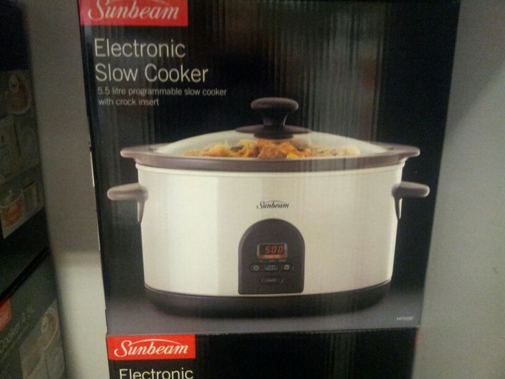 Sunbeam slow cooker - Myer (available at other stores)