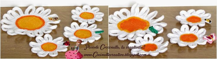 Sottobicchiere e sottobottiglia realizzato a uncinetto, crochet, con applicazioni, per informazioni http://coccinellecreative.blogspot.it/2014/06/sottobicchiere-e-sottobottiglia.html