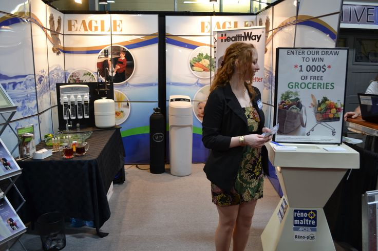 Our trade show booth is staffed by the some of the most informative and friendly people in the industry.