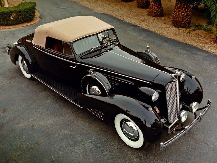 1936 Cadillac V16.