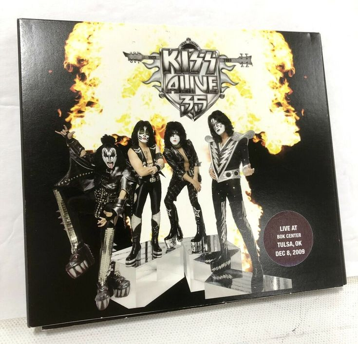 Pin on KISS Instant Live CD Collection For Sale