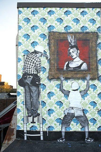 Dan Bergeron, Rene Gagnon & Blake Marquis #streetart #urbanart