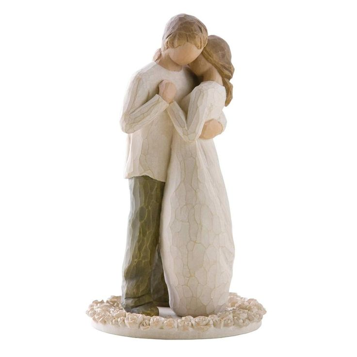 Willow Tree Promise Cake Topper Love Figure Wedding Anniversary                                                                                                                                                                                 More