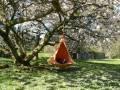 Cacoon: la tenda-amaca che si appende sull'albero o in salotto