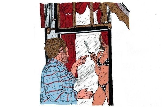 Ce qu'il se passe vraiment derrière les rideaux du quartier rouge d'Amsterdam  | VICE France