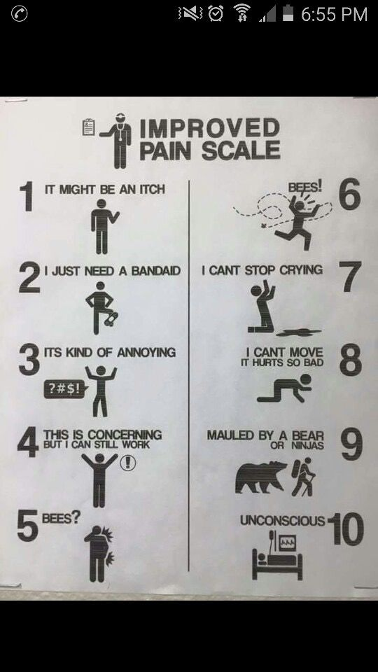 Bees? Bees! | Mum and Case annnd Mal too! | Pain scale ...