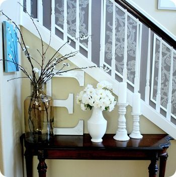 small foyer decor this would be cute in your house tiffany deyoe - Foyer Decor