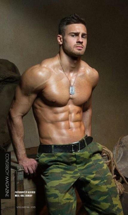 Sexy soldier.