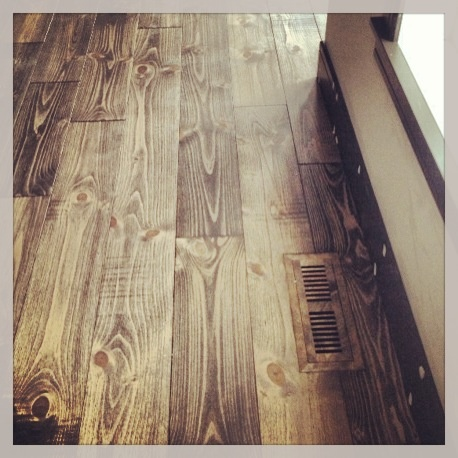 Choose complimenting flush mount Airwood Vents to increase the value of your hardwood floors. www.airwoodvents.com