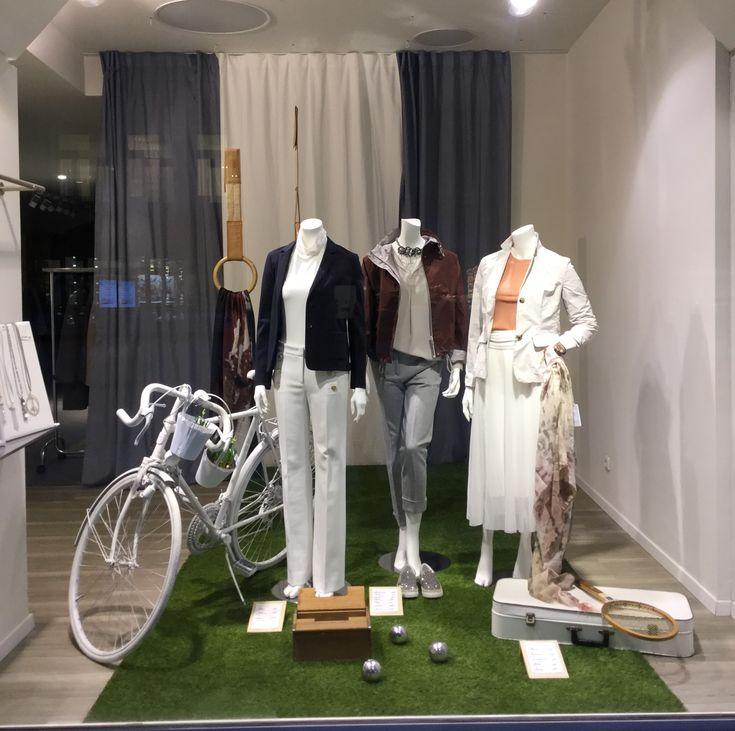 Die neue FS18 Kollektion von Peserico ist eingetroffen - Fashion on green!