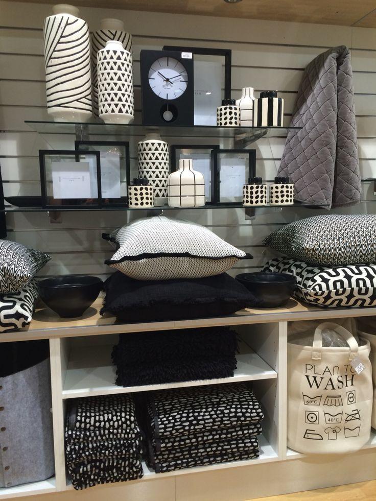 furniture display ideas. retail store display of black u0026 white homewaresvisual merchandising vm housewares furniture ideas