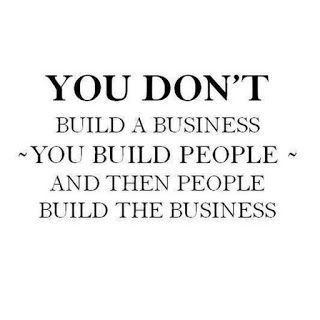 Double Team Promotion Social Media: You don't build a business, you build people, and ...